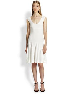 Donna Karan - Fit-&-Flare Dress