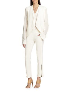 Donna Karan - Wool Envelope Jacket