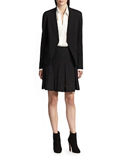 Donna Karan - Trompe Stretch Wool Boyfriend Jacket