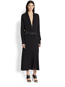 Donna Karan - Jersey Shirtdress