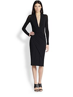 Donna Karan - Jersey Wrap-Around Dress