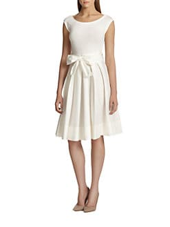 Donna Karan - Sash-Tie Dress