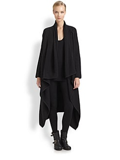 Donna Karan - Boiled Cashmere Drop Coat