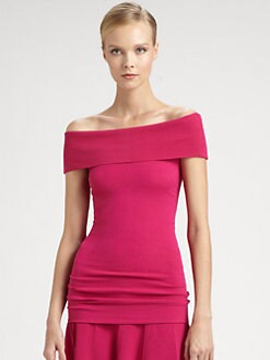 Donna Karan - Off-The-Shoulder Top