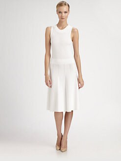 Donna Karan - Paneled Dress