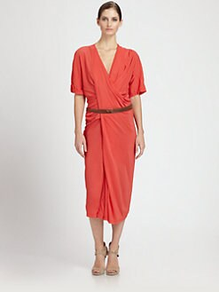 Donna Karan - Belted Dress