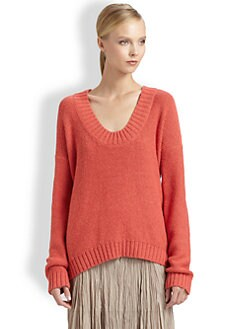 Donna Karan - U-Neck Sweater