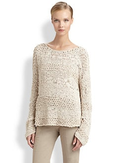 Donna Karan - Wide-Neck Sweater