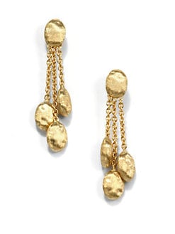 Marco Bicego - 18K Yellow Gold Dangle Earrings