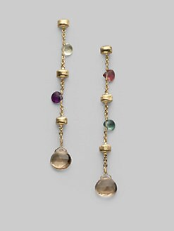 Marco Bicego - Multi-Stone 18K Yellow Gold Earrings