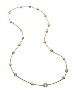 Marco Bicego - Multi Gemstone & 18K Yellow Gold Necklace