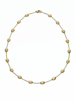 Siviglia 18K Yellow Gold Station Necklace