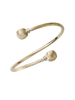 Marco Bicego - 18K Yellow Gold & Diamond Bangle Bracelet