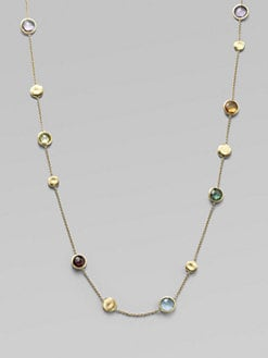 Marco Bicego - Multi Gemstone & 18K Gold Extra-Long Necklace
