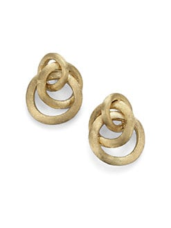 Marco Bicego - 18K Gold Cluster Link Earrings