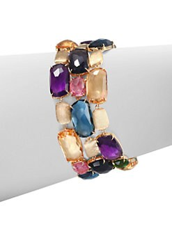 Marco Bicego - Semi-Precious Multi-Stone Three-Row Bracelet