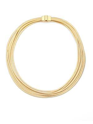 Cairo 18K Yellow Gold Multi-Strand Necklace