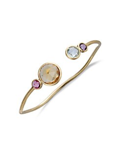 Marco Bicego - Semi-Precious Multi-Stone & 18K Gold Kissing Bracelet