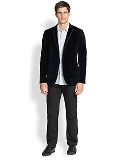 Theory - Rodolf Velvet Jacket
