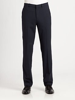 Theory - Slim-Fit Wool Pants