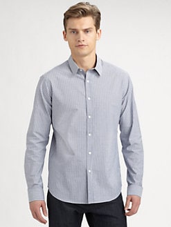Theory - Zack Lomita Striped Sportshirt