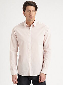 Theory - Zack Striped Woven Sportshirt