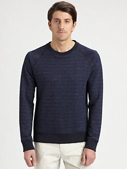 Theory - Melange Crewneck Sweatshirt