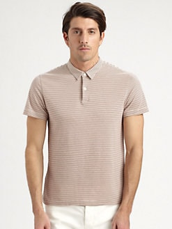 Theory - Striped Polo