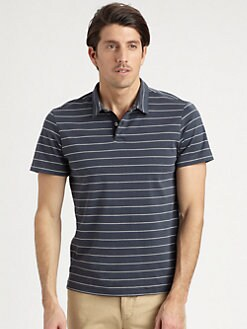 Theory - Florian Striped Polo