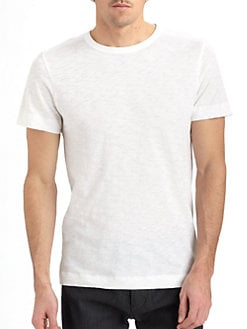 Theory - Cotton Crewneck Tee