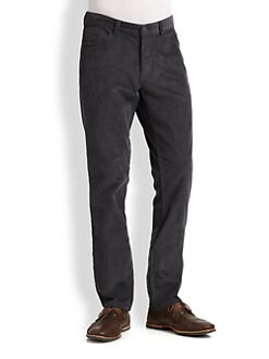 Theory - Corduroy Straight-Leg Pants