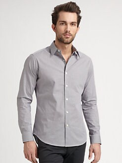 Theory - Mini-Gingham Sportshirt