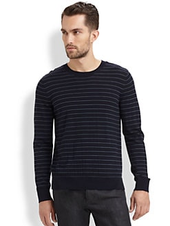 Theory - Soverign Striped Wool Sweater