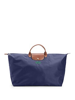 Longchamp - Personalized Le Pliage Travel Bag