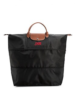 Longchamp - Personalized Le Pliage Expandable Duffle