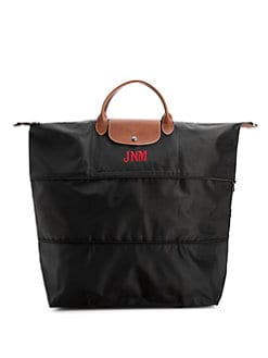 Longchamp - Personalized Le Pliage Expandable Duffel