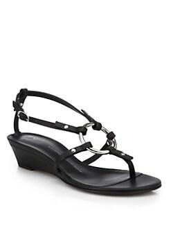 Giuseppe Zanotti - Link Wedge Sandals