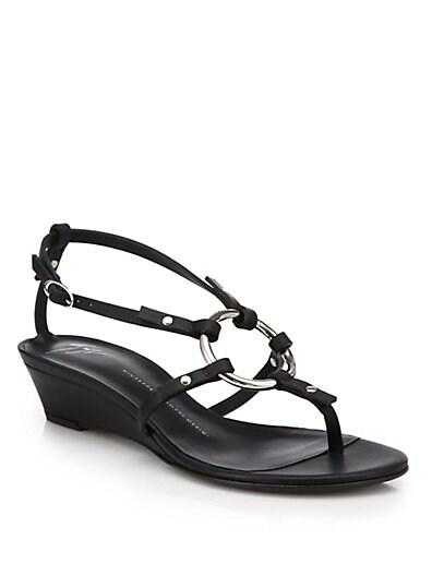 Link Wedge Sandals