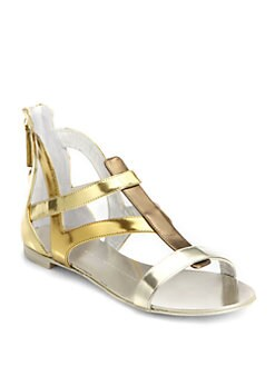 Giuseppe Zanotti - Baby Bella Metallic Sandals