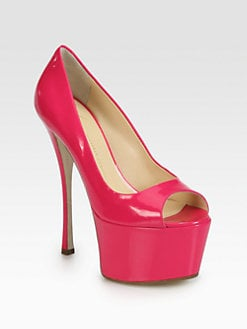 Giuseppe Zanotti - Sasha Patent Leather Platform Pumps