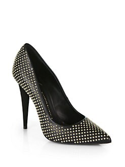 Giuseppe Zanotti - Studded Leather Pumps