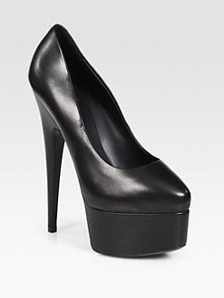 Giuseppe Zanotti - Leather Platform Pumps