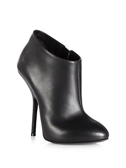Giuseppe Zanotti - Leather Ankle Boots