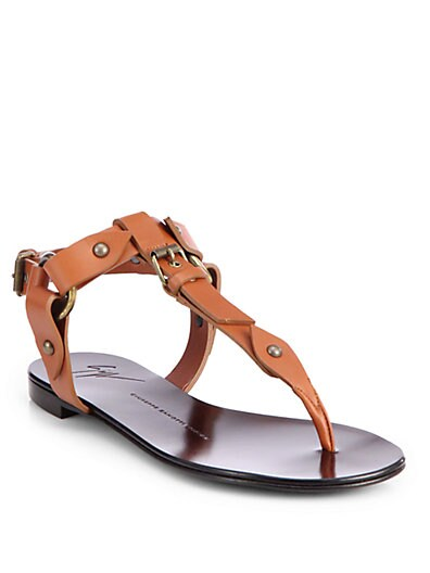 Buckle Thong Sandals