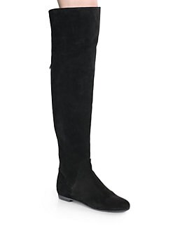 Giuseppe Zanotti - Suede Over-The-Knee Boots