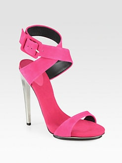 Giuseppe Zanotti - Alien Cutout Suede Sandals
