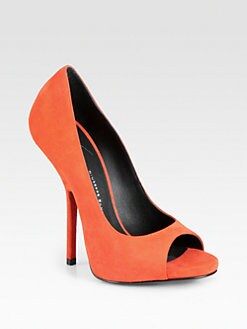 Giuseppe Zanotti - Suede New Heel Platform Pumps