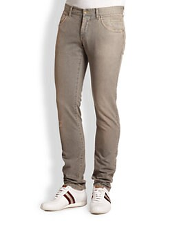 Dolce & Gabbana - Six-Pocket Straight Leg Jeans