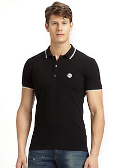 Dolce & Gabbana - Tipped Logo Polo