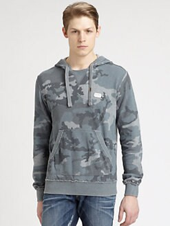 Dolce & Gabbana - Camo Hoodie